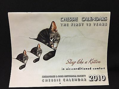 2010 Chesapeake & Ohio Historical SocietyTrain Chessie Calendar 1st 12 Years