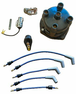 Marine Tune Up Kit with Wires for Some 4 Cyl In-line Single Point GM Mercruiser