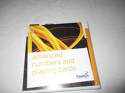 Advanced Numbers and Playing Cards CD SET Freedom Personal Development NEW