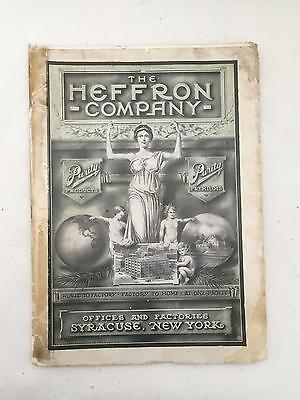 HEFFRON 1908 Purity Products & Premiums Catalog 105 pgs