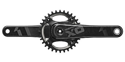 SRAM X01 DH X-SYNC 11SP 32T No BB Carbon Crankset 165mm Black