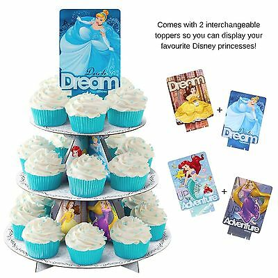 Disney Princess Wilton Cupcake Decoration Stand Holder Holds 24 Cupcakes