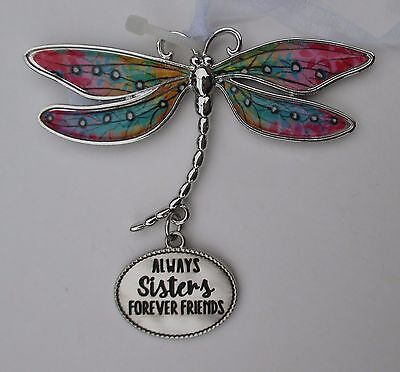 bb Always sisters forever friends DELIGHTFUL DRAGONFLY ORNAMENT CAR CHARM Ganz
