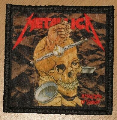 "METALLICA ""HARVESTER OF SORROW"" silk screen PATCH"