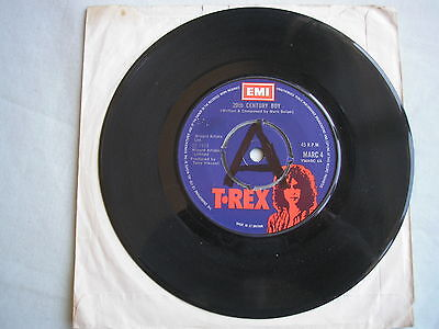"T. REX 20th Century Boy UK 7"" single 1973 ex"