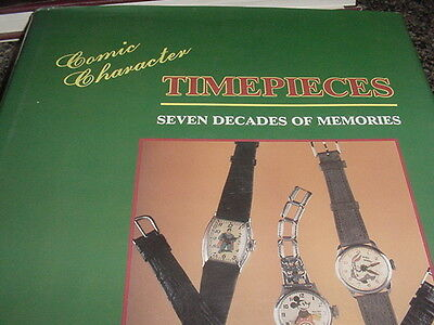 Comic Character Timepieces Book 280 Pages 1992