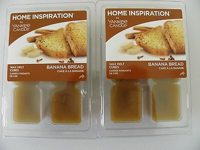 Yankee Candle Home Inspiration 12 Wax Melts Banana Bread