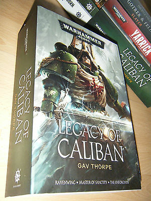 Gav Thorpe LEGACY OF CALIBAN Omnibus 1st/Pb MINT Warhammer 40K Dark Angels