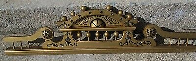 Carved + Gilded Antique Eastlake Victorian Crest / Crown / Pediment / Header