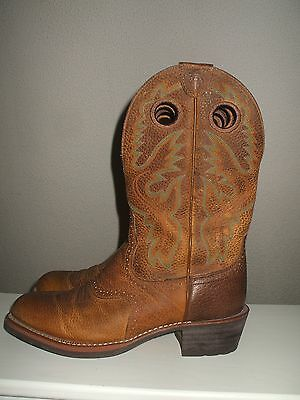 Men's ARIAT Rowdy Heritage Roughstock Oiled Cowboy Boots Size 10 D