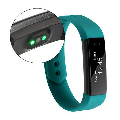 Smart Wristband Heart Rate Bracelet Bluetooth SMS Fitness Activity Tracker AC760