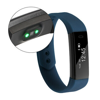 Smart Wristband Heart Rate Bracelet Bluetooth SMS Fitness Activity Tracker AC757