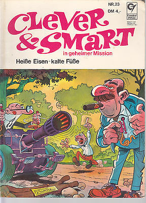 Clever & Smart Nr. 23 / 1. Auflage / Comic-Album