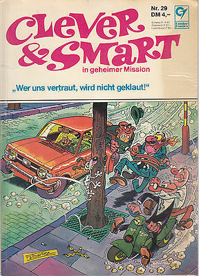 Clever & Smart Nr. 29 / 1. Auflage / Comic-Album