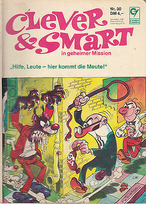 Clever & Smart Nr. 30 / 1. Auflage / Comic-Album