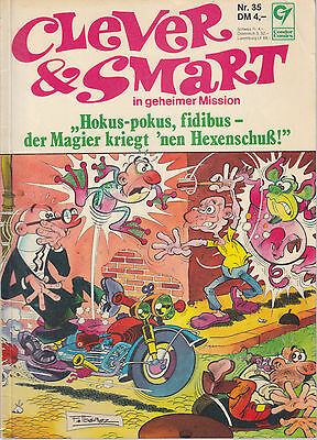 Clever & Smart Nr. 35 / 1. Auflage / Comic-Album