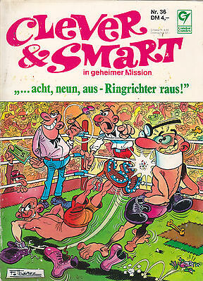Clever & Smart Nr. 36 / 1. Auflage / Comic-Album