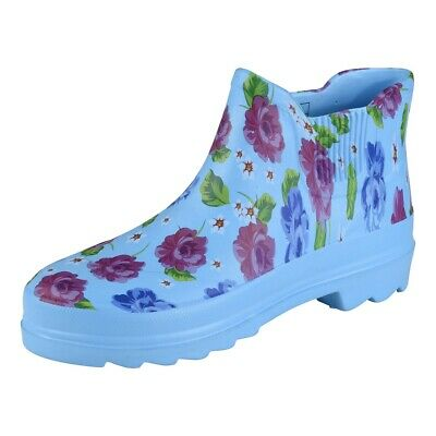 Camprella Ladies Phylon short Boots Blue/Multi