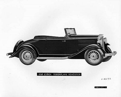 1932 Hudson Terraplane Roadster Factory Photo ad6265