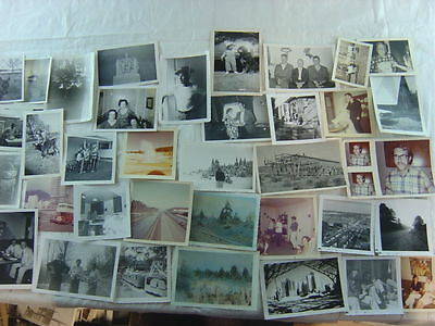 Lot of 68 Vintage Snapshot Photos 766068
