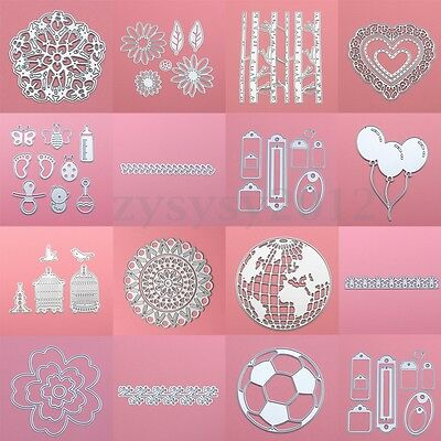 Metal Cutting Dies Stencil Album Scrapbook Paper Card Craft Embossing DIY Gift