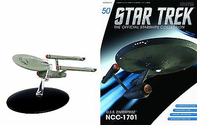 STAR TREK Official Starships Magazine #50 ENTERPTISE 1701 (classic) Eaglemoss