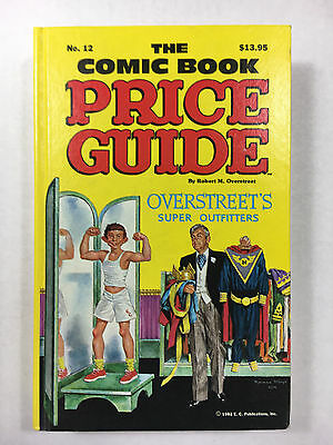 Overstreet Price Guide #12 NM- Hard Cover unused high grade 1982 Mad EC