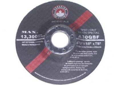 "5"" x 1/8-Inch Depressed Centre Cut Off Wheel for Steel [box of 50] Type-42"