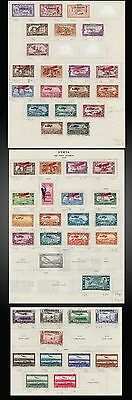 1923 To 1938 Syria Air Post - Airmails On Old Pages Sct. - C15 To C88