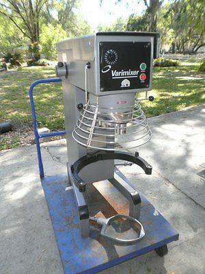 Varimixer Welbilt W40 Stand Mixer 40QT Food Dough Bread w/ Paddle & Bowl Screen
