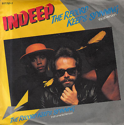 """7"""" INDEEP: The Record Keeps Spinning"""