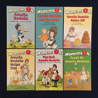 Lot of 6 Children's Picture Books Peggy Parish: Amelia Bedelia Series - NEW GIFT