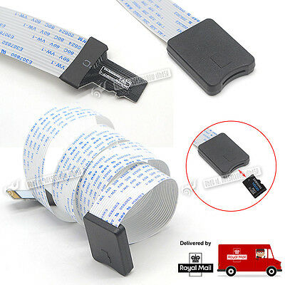 TF To Micro SD Card Extension Cable Flexible Extender Adapter Reader Car GPS DVD