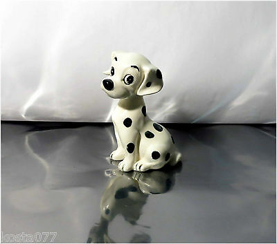 Vintage Disney's 101 Dalmations Puppy Figurine, Penny, Enesco Label