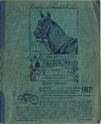 1942 Blue Horse Composition Book (Montag Bros