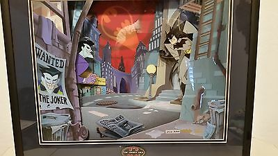Animated Animations Batman, The Jokers Wild by Warner Brothers with COA