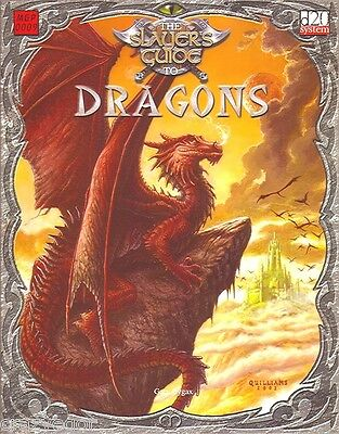 D&D 3rd ed Slayers Guide to Dragons by Gary Gygax - D20 *FS