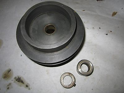 Atlas Clausing 100 4800 Metal Lathe Countershaft 3 Step Clutch Pulley DL244