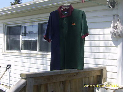 Mcdonalds Crew Casual Shirt Medium Size By Crest