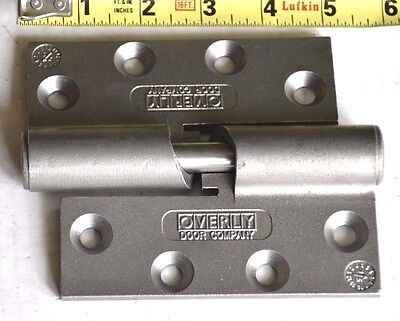 Overly Door Co. MCL-500 Cam-Lift Hinges weighing up to 500 lbs New set of 2
