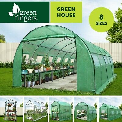 Walk In Greenhouse Tunnel Plant Green House Garden Storage Grow Sheds