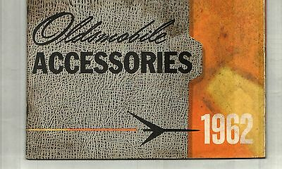 1962 Oldsmobile 98, 88, F-85 Accessories Sales Catalog