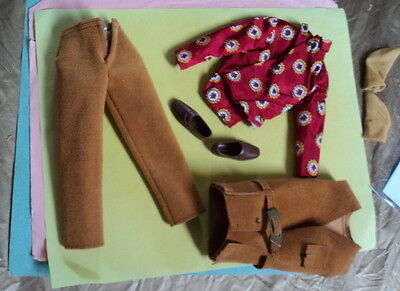 #1439  Ken The Suede Scene Outfit Complete Very Nice ~~