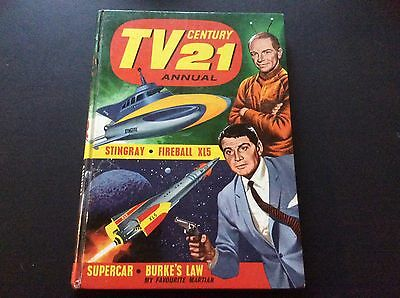Tv Century 21 Annual 1966 - Excellent Condition