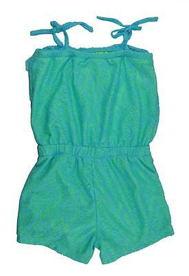 Pinkhouse Big Girls Baby Blue Lace Detailed Romper Size 7/8 14/16