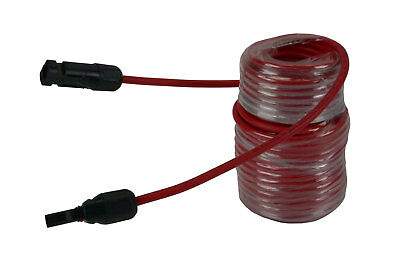1 Qty 50 ft MC4 Solar Panel Extension Connector 10 AWG PV Cable Wire Red