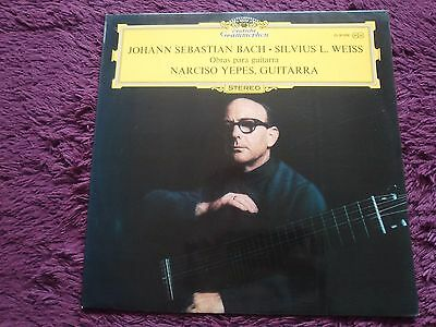 Bach, Silvius L. Weiss – Narciso Yepes , Vinyl, LP , 1971 ,Germany , 2530 096