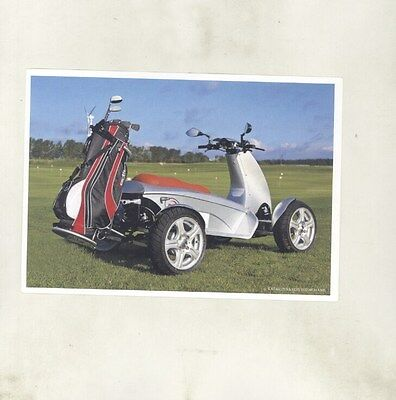 2005 ? E-Volution JetFlyer Electric Golf Caddy ORIGINAL Postcard German my8933