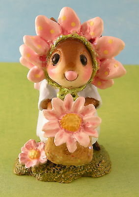 MARY MARY QUITE CONTRARY by Wee Forest Folk, Pink, Mouse Expo 2012 Event Piece