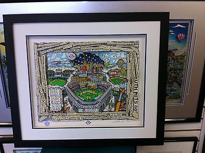 """Charles Fazzino """"The Yankees: Celebrating 100 Years """" 3-D Art  Deluxe Edition"""